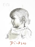 Portrait d&#39;Enfant Collectable Print by Pablo Picasso