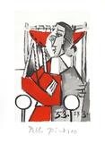 Femme Assise Impressões colecionáveis por Pablo Picasso