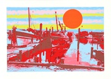 Freeport Fishing Boats Collectable Print by Max Epstein