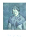 Buste de Femme Impressão colecionável por Pablo Picasso