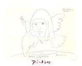 Youri Gagarine Impressões colecionáveis por Pablo Picasso