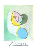 Figure (Portrait of Marie Therese Walter) Sammlerdrucke von Pablo Picasso