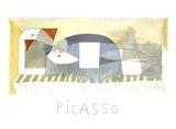 Femme Allongee Impressões colecionáveis por Pablo Picasso