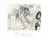 Jeux de Pages Collectable Print by Pablo Picasso
