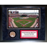 Great American Ballpark Mini Dirt Collage Framed Memorabilia