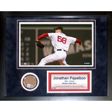 Jonathan Papelbon Mini Dirt Collage Framed Memorabilia