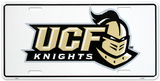 University of Central Florida Knights License Plate Cartel de chapa