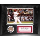 Justin Upton Mini Dirt Collage Framed Memorabilia