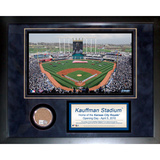 Kauffman Stadium Mini Dirt Collage Framed Memorabilia