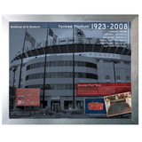 Anatomy of Yankee Stadium - Brick Collage Framed Memorabilia