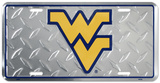 West Virginia Diamond License Plate Tin Sign