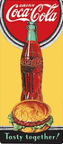 Drink Coca Cola Coke Tasty Together Plaque en métal