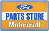 Ford Parts Store Motorcraft Blechschild