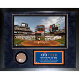 Citi Field Mini Dirt Collage Framed Memorabilia