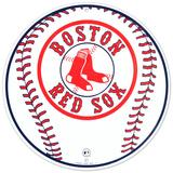 Boston Red Sox Baseball Logo Round Blikkskilt