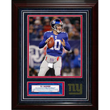 Eli Manning Turf Collage w/ Photograph Framed Memorabilia
