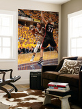 Indianapolis, IN - May 24: Miami Heat and Indiana Pacers - David West and Shane Battier Prints by Ron Hoskins