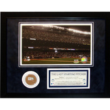 Andy Pettitte 'The Last Starting Pitcher' Mini Dirt Collage Framed Memorabilia