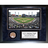 Cellular Field Mini Dirt Collage Framed Memorabilia