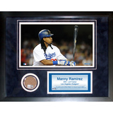 Manny Ramirez Mini Dirt Collage Framed Memorabilia