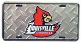 Cardinals de la Universidad de Louisville Cartel de chapa