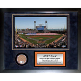 AT&T Park Mini Dirt Collage Framed Memorabilia