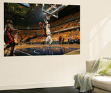 Indianapolis, IN - May 24: Miami Heat and Indiana Pacers - Dwyane Wade and Roy Hibbert Prints by Nathaniel S. Butler