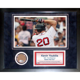 Kevin Youkilis Mini Dirt Collage Framed Memorabilia
