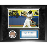 Lyle Overbay Mini Dirt Collage Framed Memorabilia