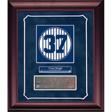 Casey Stengel Retired Number Monument Park Brick Slice Collage w/ Nameplate Framed Memorabilia