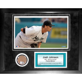 Josh Johnson Mini Dirt Collage Framed Memorabilia