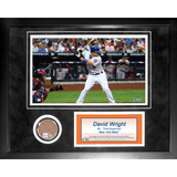 David Wright Mini Dirt Collage Framed Memorabilia