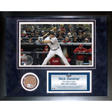 Nick Swisher Mini Dirt Collage Framed Memorabilia