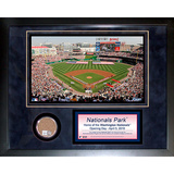 Nationals Park Mini Dirt Collage Framed Memorabilia
