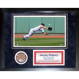 Jacoby Ellsbury Mini Dirt Collage Framed Memorabilia
