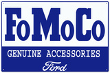 Ford Motor Company Genuine Accessories Tin Sign