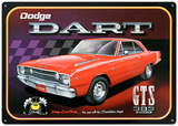 Dodge Dart GTS 383 Magnum Car Tin Sign
