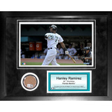 Hanley Ramirez Mini Dirt Collage Framed Memorabilia