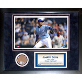 Joakim Soria Mini Dirt Collage Framed Memorabilia