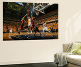 Indianapolis, IN - May 24: Miami Heat and Indiana Pacers - Danny Granger and Ronny Turiaf Wall Mural by Nathaniel S. Butler