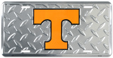 Tenessee Volunteers Diamond License Plate Tin Sign