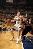 Indianapolis, IN - May 24: Miami Heat and Indiana Pacers - Tyler Hansbrough and Mike Miller Photographic Print by Nathaniel S. Butler