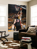 Indianapolis, IN - May 24: Miami Heat and Indiana Pacers - Tyler Hansbrough and Joel Anthony Wall Mural by Nathaniel S. Butler