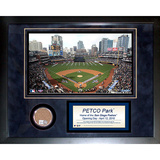 Petco Field Mini Dirt Collage Framed Memorabilia