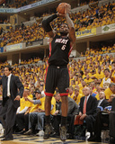 Indianapolis, IN - May 24: Miami Heat and Indiana Pacers - LeBron James Photographic Print by Ron Hoskins