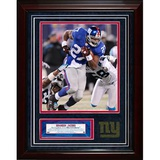 Brandon Jacobs Turf Collage w/ Photograph Framed Memorabilia
