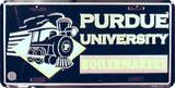 Perdue University License Plate Tin Sign