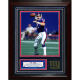 Phil Simms Turf Collage w/ Photograph Framed Memorabilia
