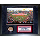 Angel Stadium Mini Dirt Collage Framed Memorabilia