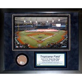 Tropicana Field Mini Dirt Collage Framed Memorabilia